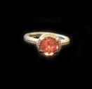Pink Tourmeline Ring