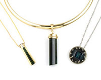 necklace-gold-black